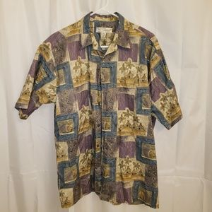 Tori Richards Hawaiian Shirt Made in U.S.A.
